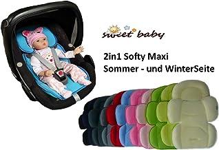 Cuscino Seggiolone Soft Cotton Soft Ispessito Cuscino Bambino Riduttore per Carrozzina Seat all Season luminiu Cuscino Universal Passeggino