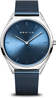 BERING Unisex Analogue Quartz Watch with Stainless Steel Strap 17039-307