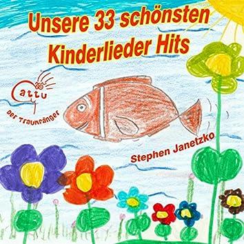 Unsere 33 schönsten Kinderlieder Hits