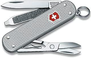 Victorinox Unisex Classic Alox Swiss Army Knife Blade, Silver, Small/30 mm