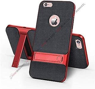 iPhone 6 Plus - 6S Plus Kılıf Standlı Koruma Kabı + Apple İphone 6 Plus Kırılmaz Cam Ekran Koruyucu