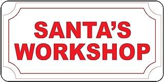Best images of santa's workshop sign Reviews