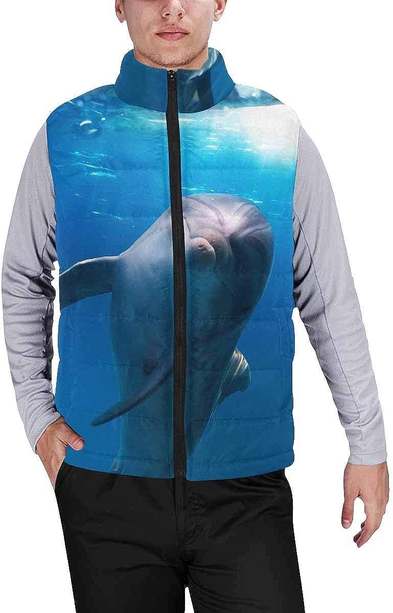 InterestPrint Men's Lightweight Outwear Vest for Hiking, Fishing Turkey Hot Air Balloon