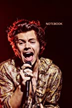 Harry Styles :Notebook and Journal Perfect for Birthday gifts and Fan club members: perfectly Lined journal with 110 pages...