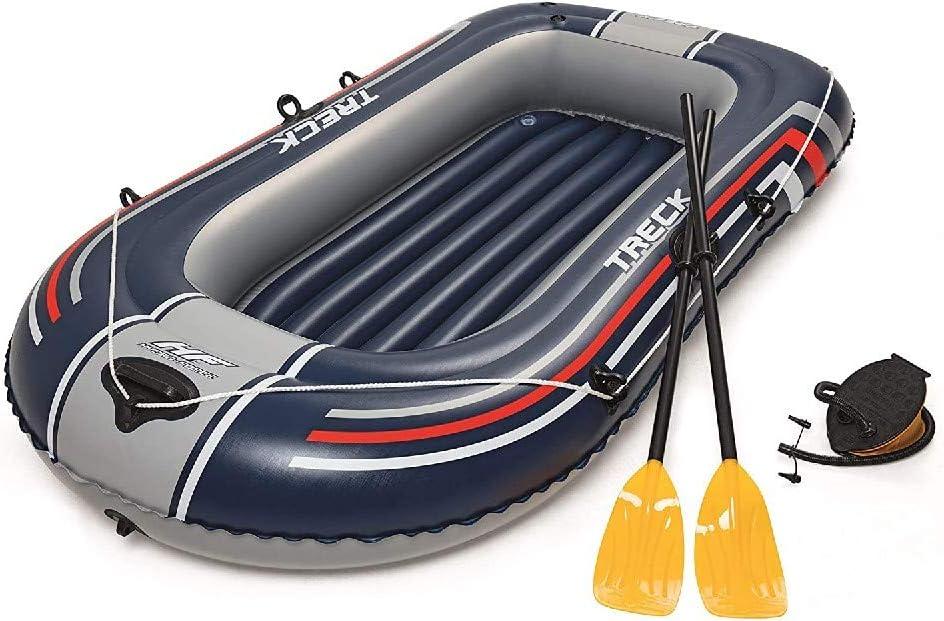激安 Bestway Hydro-Force Treck Inflatable Dinghy Boat 限定タイムセール Raft Multiple