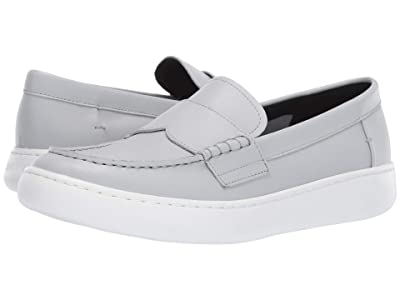 Calvin Klein Fang (Blue/Grey Nappa Smooth Calf) Men