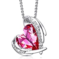 CDE Mothers Day Necklaces for Women Embellished with Crystals from Swarovski Pendant Necklace...