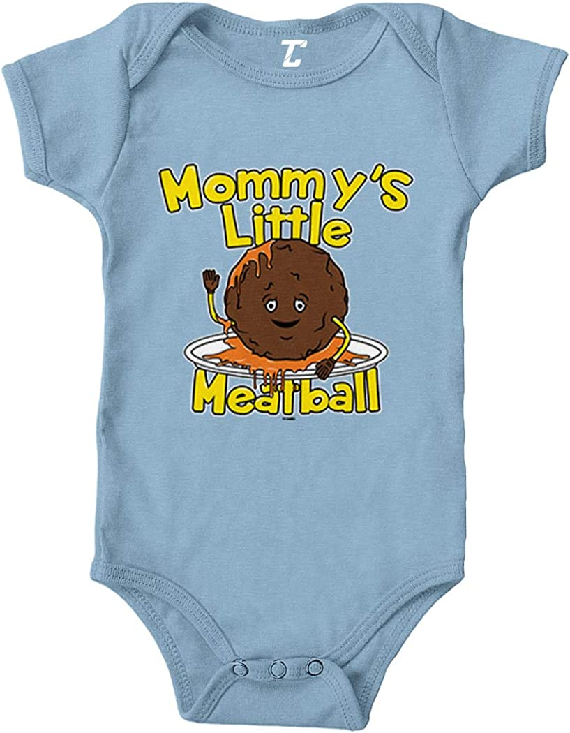 Tcombo Mommy's Little Meatball New Free Shipping Bodysuit Opening large release sale - Funny