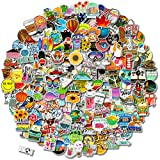 200 PCS Stickers Pack (50-500Pcs/Pack), Colorful Waterproof Stickers for Flask, Laptop, Phone, Water Bottle, Cute Aesthetic Vinyl Stickers for Teens, Girls