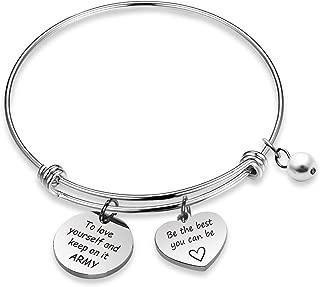 Kpop BTS Bangtan Boys Bracelet to Love Yourself Army Never Mind Charm Bracelet Inspirational Gift BTS Lover Fans Jewelry Gift for BTS Fans Girl