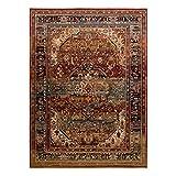 Teppich Wolle KESHAN Ornament orientalisch 7518/53528 beige/dunkelblau 250x350 cm beige - 2