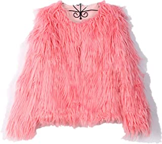 AOJIAN New Ladies Warm Faux Fur Coat Jacket Winter Parka Outerwear