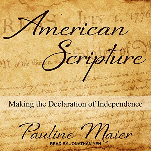 American Scripture audiobook cover art