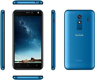 OneClick C2 Pro Dual Sim - 8GB , 1GB Ram , 3G , Blue