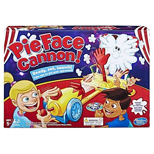 Pie Face Cannon Game - Juego de Mesa de Nata montada, para niños a Partir de 5 años (Idioma español no garantizado)