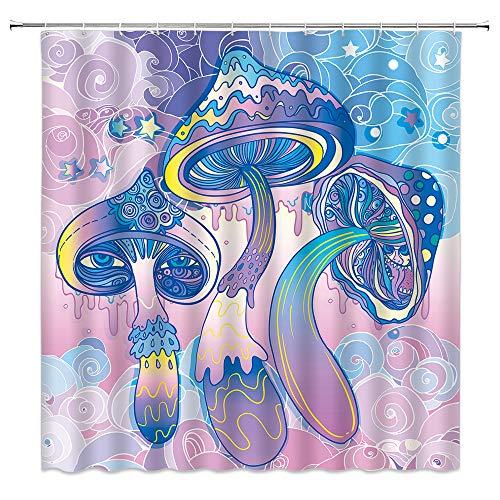 Mushroom Shower Curtain Fantasy Children