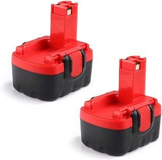 2x Masione 14.4v 1.5Ah Battery for Bosch Drill BAT038 BAT040 BAT041 BAT140 BAT159