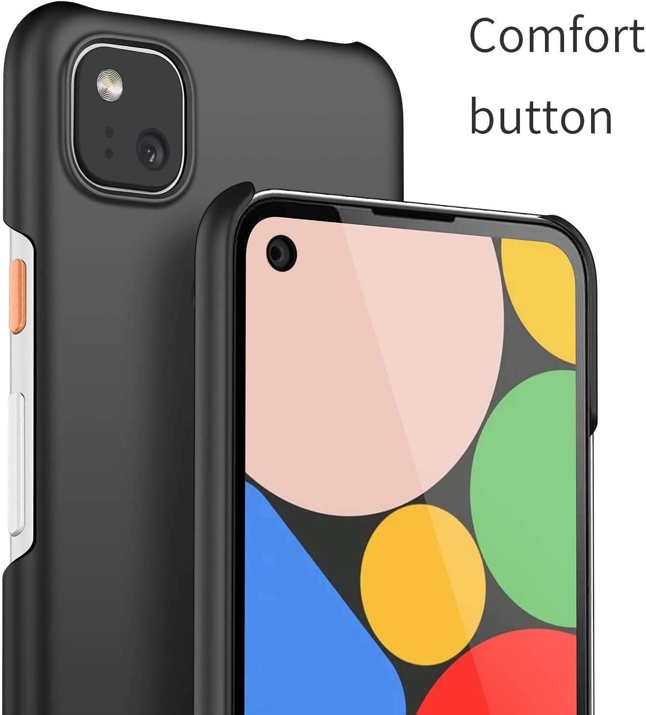 cookaR Coque Google Pixel 4a Simple et /él/égant Cloth Fiber Antichoc Ultra Mince /Étui Cas Housse pour Pixel 4a,Bleu