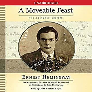 A Moveable Feast audiobook cover art