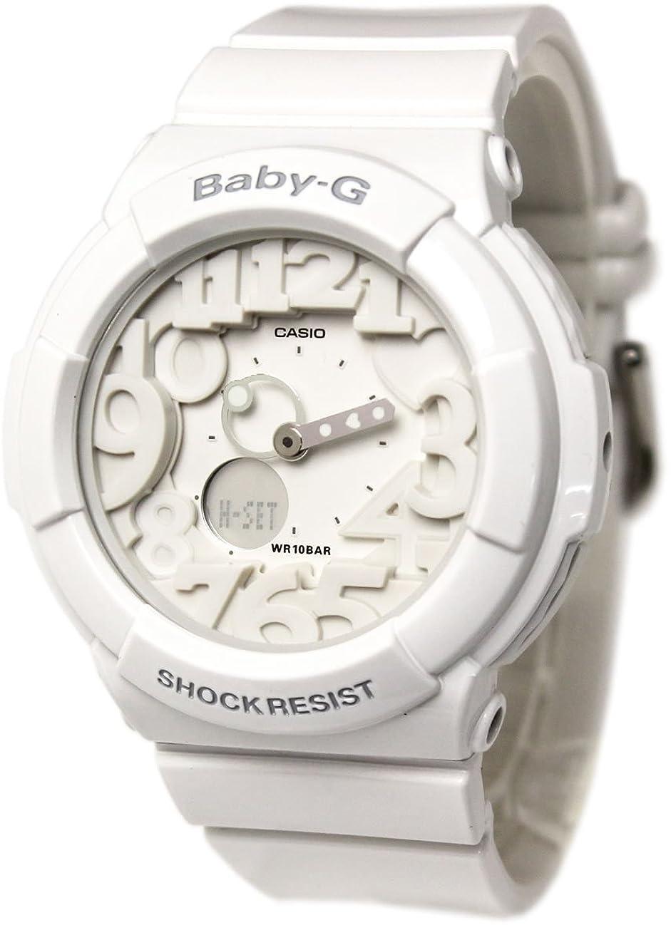 単語望む石油CASIO カシオ Baby-G ベビーG BGA-131-7BホワイトNeon Dial Series ネオンダイアルシリーズ レディース 腕時計 [並行輸入品]