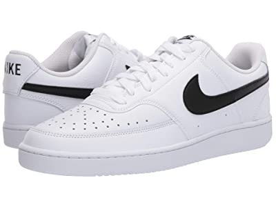 Nike Court Vision Lo (White/Black/White) Men