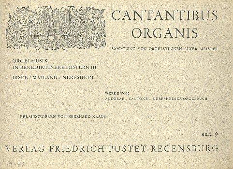 Orgelmuziek in Benediktinerklöstern Band 3: Ierse Milaan, Neresheim