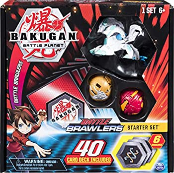 Bakugan Battle Brawlers Starter Set with Bakugan Transforming Creatures Haos Howlkor for Ages 6 and Up