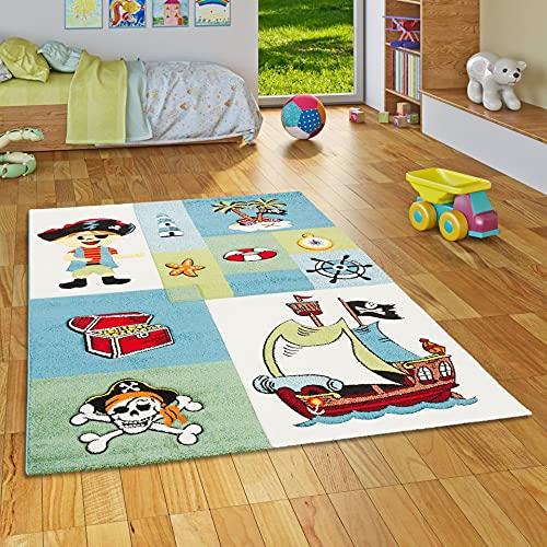 Maui Kids - Tapis pour enfant - motif pirate, Taille:80x150 cm