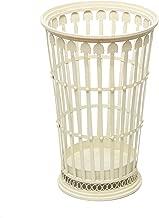 ROMELAREU Porte-Parapluie Style Vintage M/étal 26 x 46 cm Noir Maison et Jardin Produits m/énagers Rangement et Organisation Crochets et pat/ères Porte-parapluies