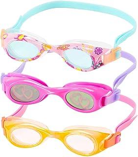 Speedo Kids Swim Goggles Triple Goggle Pack ~ Fun Prints