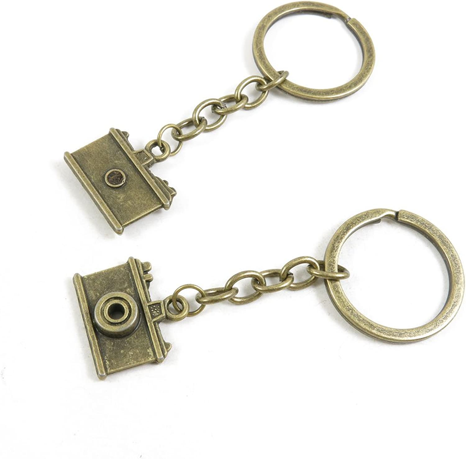 170 Pieces Fashion Jewelry Keyring Keychain Door Car Key Tag Ring Chain Supplier Supply Wholesale Bulk Lots O8UM3 Camera