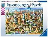 Ravensburger Puzzle, Puzzles 1000 Piezas, Hitos del Mundo, Puzzles para Adultos, Puzzle Ravensburger