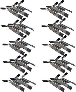 20 de sujeción con cierre de seguridad para persiana enrollable protección antirrobo hebilla robo de copia de seguridad 10 x 2 piezas