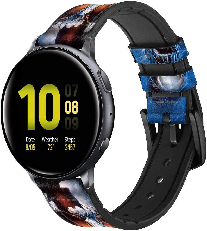 CA0169 New item Vampire Skull Leather Silicone Band Ranking TOP10 f Strap Smart Watch