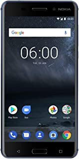 Nokia 6 - 32 GB - Dual Sim Unlocked Smartphone (AT&T/T-Mobile/Metropcs/Cricket/Mint) - Update To Android 9.0 PIE - 5.FHD Screen - Blue - U.S. Warranty
