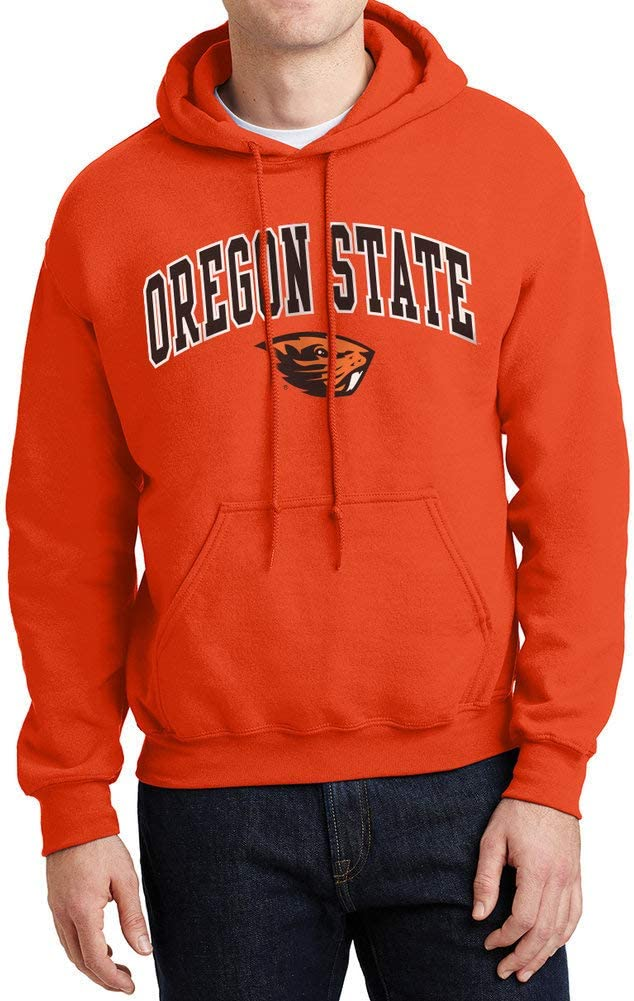 Elite Fan Shop Mens Team Color Arch Hoodie Sweatshirt