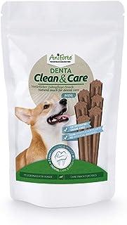 AniForte Zahnstein-EX Mini Sticks 160 g - natürlicher Zahnpflegesnack für Hunde, Hundeleckerli zur Zahnreinigung, Zahnsteinentferner gegen Maulgeruch, entfernt Plaque & beugt vor, getreidefrei