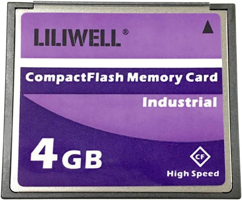 LILIWELL Original 4 GB CompactFlash Memory Card CF4G for Camera