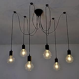 Lixada Luz Lámpara del Techo Candelabro Iluminación Retra