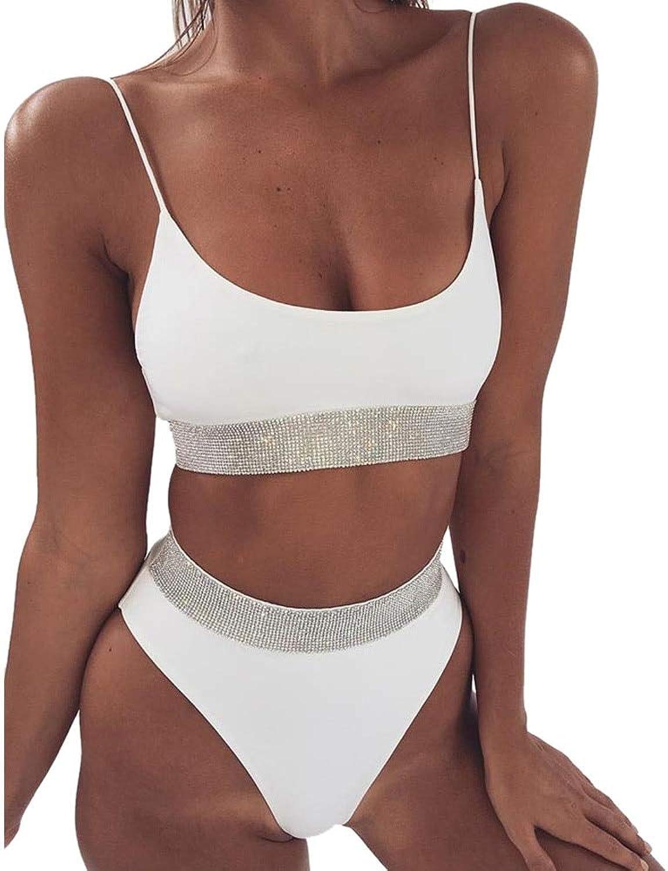 SEYMI Bikini Frauen Badeanzug Bademode Frauen Solide Bikini Bademode Badeanzug Beachwear Push-Up Gepolstert