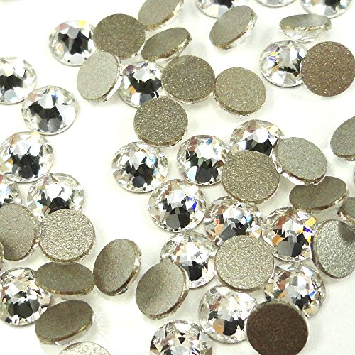 720 pcs Crystal (001) clear Swarovski NEW 2088 Xirius 12ss Flat backs Rhinestones 3mm ss12