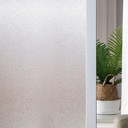 LMKJ Película de Vidrio Opaco Esmerilado protección de privacidad Etiqueta de Vidrio Sala de Estar Dormitorio decoración del hogar Etiqueta A71 60x100 cm