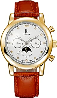 IK Colouring Watches for Men Luxury Business Casual Automatic Mechanical Wristwatch