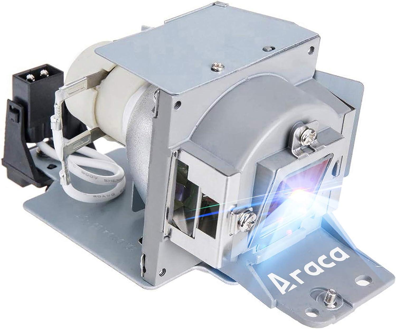 Araca 5J.J3T05.001 /5J.J8J05.001 /5J.J8G05.001 Replacement Projector Lamp for Benq MW665 TH681 MW663 TH681 EP4227 MS614 MX613ST MX660P MW665 TH681 MW663 TH681 MX618ST with Housing(Economical)