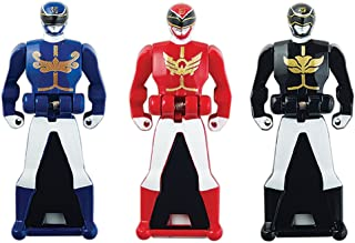 Power Rangers Super Megaforce - Power Rangers Megaforce Legendary Ranger Key Pack, Red/Blue/Black
