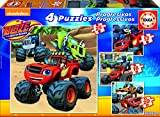 Blaze and the Monster Machines - Puzzles progresivos de 12, 16, 20 y 25 Piezas (Educa Borrás 17162)