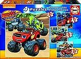 Blaze and the Monster Machines - Puzzles progresivos de 12, 16, 20 y...