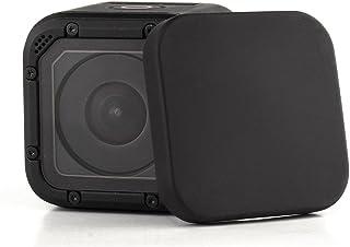 【Taisioner】GoPro HERO 4/5 Session専用 レンズカバー キャップ レンズ保護 汚れやホコリや傷を防ぐ ブラック ポリカーボネート(PC)製