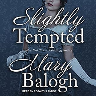 Slightly Tempted     Bedwyn Saga Series, Book 4              By:                                                                                                                                 Mary Balogh                               Narrated by:                                                                                                                                 Rosalyn Landor                      Length: 11 hrs and 29 mins     471 ratings     Overall 4.5