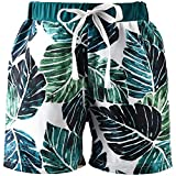ASTRILL Infant Baby Toddler-Boys-Swim-Trunks Beach Shorts Tropical Style Bathing Suit